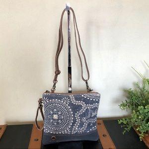 Handbags - Myra bag Sapphire Crossbody Purse / Wristlet NWT